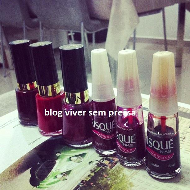 esmaltes vermelhos blog