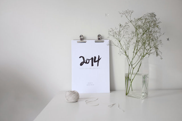 calendário minimalista 2014_1