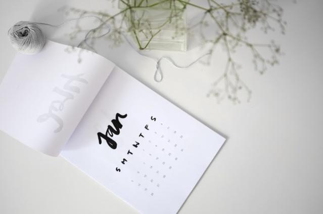 calendário minimalista 2014_2