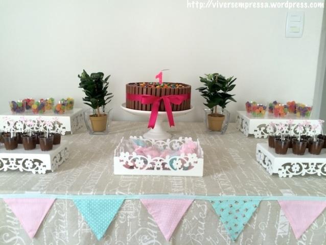 festa aniversario minimalista 1