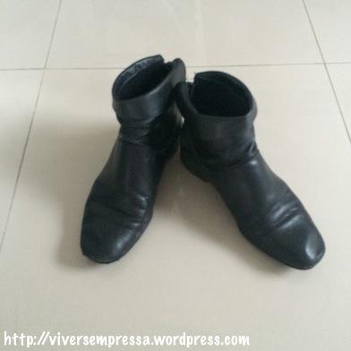 bota de cano curto