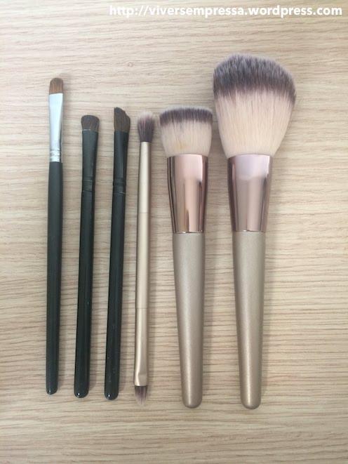 maquiagem minimalista