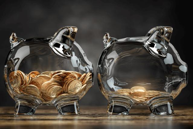 Investimentos-atrelados-a-inflacao-porquinho-de-moedas-com-pouco-dinheiro